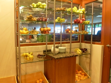 Specially Cooled Fruit Room For Snacks Anytime Of The Day