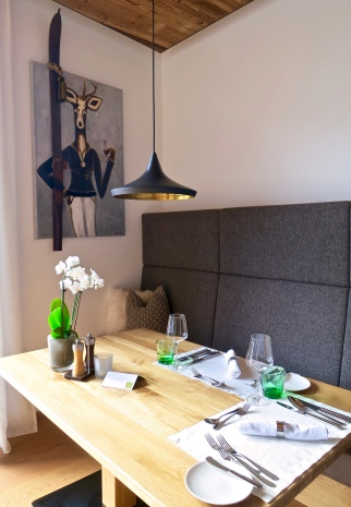 Whimsical Art In The Dining Room