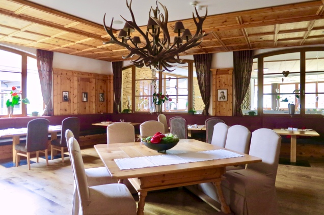One Of Nesslerhof's Dining Rooms