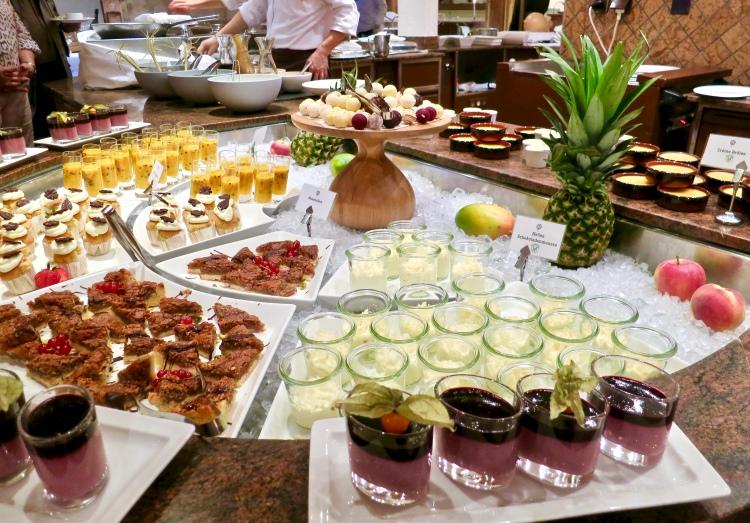 dessert buffet hotel achenkirch