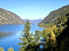 Beautiful Achensee, The Largest Lake In Tirol, Austria