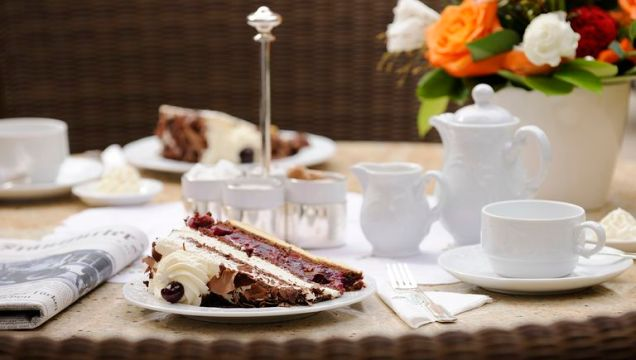 Black Forest Cake At Hotel Bareiss