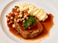 Braised Veal With Vegetables And Tagliatelle