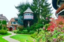 The Wonderful Children's Tree House At The Bareiss Hotel