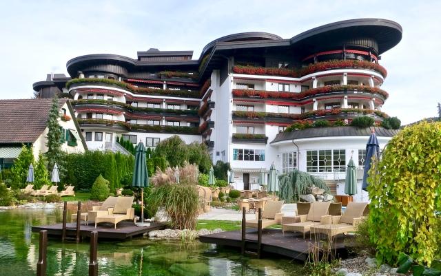 poolside of hotel bareiss