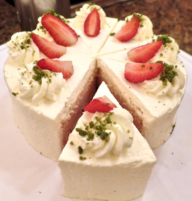 freshly baked cake at Bareiss