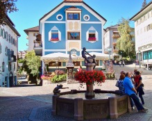 Pretty Square In Ortisei