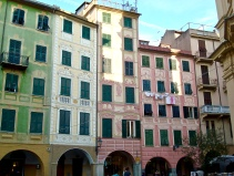 Faded Elegance in A Santa Margherita Square