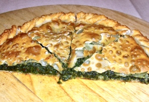 Erbazzone, A Spinach Filled Pastry