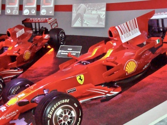 Ferrari Formula One Race Cars At Ferrari Museum