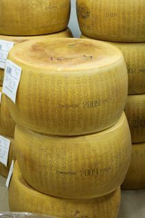 Parmigiano Reggiano Photo: Wikimedia