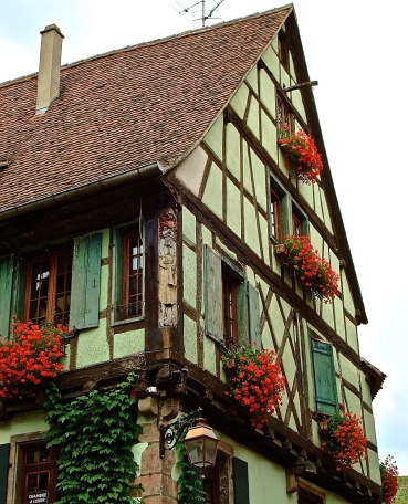 Alsatian Half-timber Building