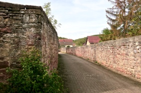 Medieval Walls Still Surround Some Of The Towns