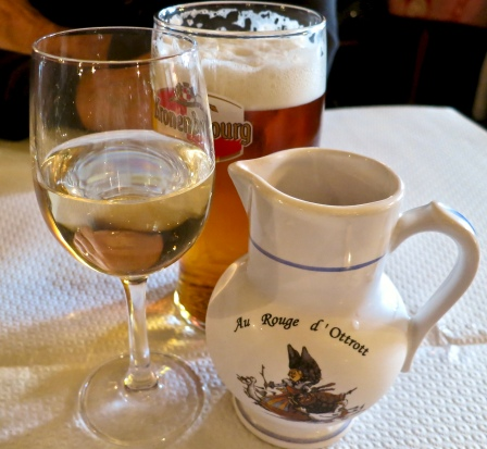 Wine And Beer In Ottrot, France