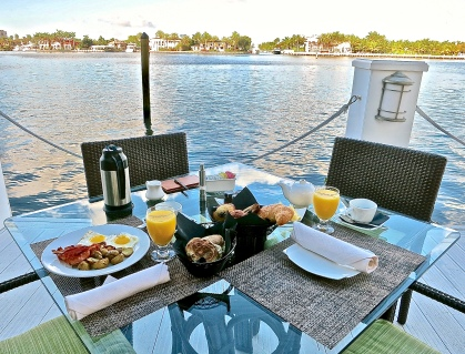 Breakfast On The Dock