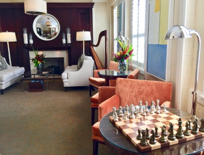 Perhaps A Game Of Chess In The Pillars Lounge