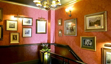 The Stairs To The Audley Dining Room
