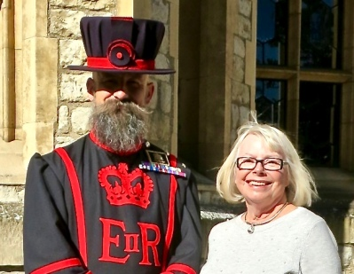 Yeoman Warder Gary Thynne And Myself