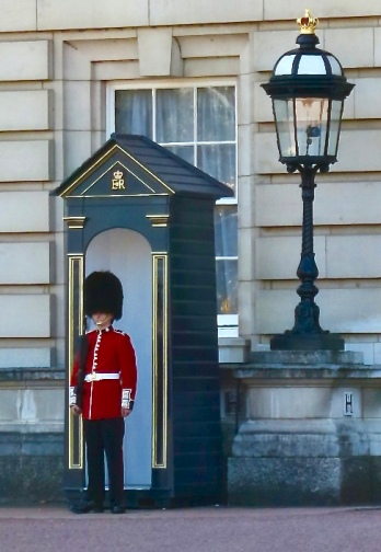 The Queen's Guard At Buckingham Palace