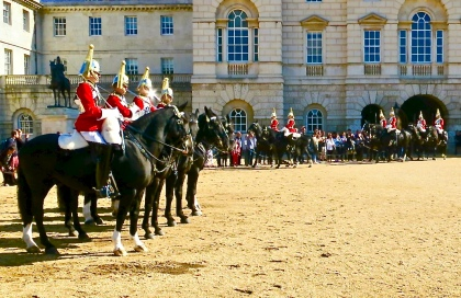 Changing of the Queen's Life Guards