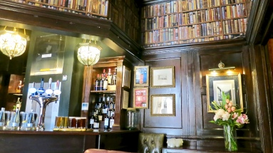 The Audley Pub Feels Like A Gentleman's Club