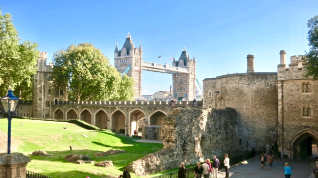 Tower Of London Moat And Wall