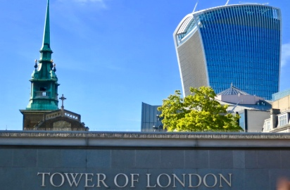 Historic And Modern London