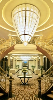 Impressive Chandelier In Atrium