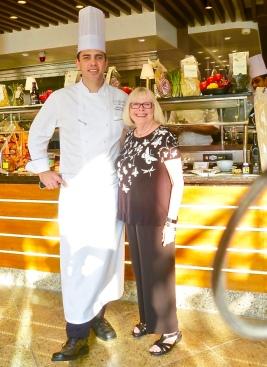 Senior Executive Chef Sean Emsile And Myself At Pool Grill
