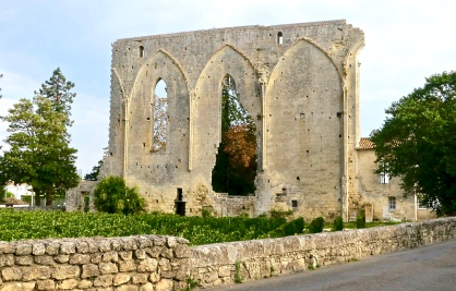 Vineyards Grow Right Up To The Village Walls Of Saint-Emilion