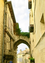 Narrow Street In Saint-Emilion