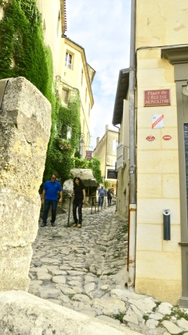 Steep Cobblestone Streets Known As Tertres