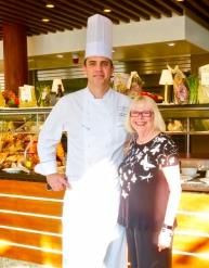 Senior Executive Chef Sean Emsile And Myself