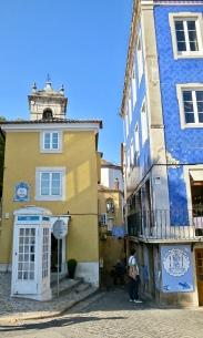Colorful Street Corner In Sintra