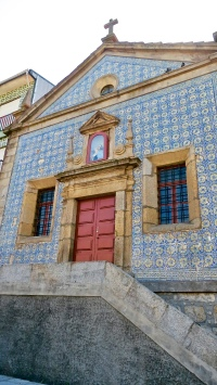 Tile Covered Church in Porto