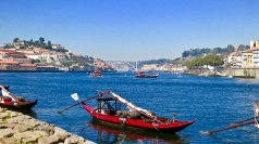Along The Porto Riverfront