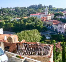 Collapsed Roof In Historic Sintra