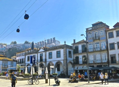 Port Wine Houses On The South Bank Of The Douro In Porto