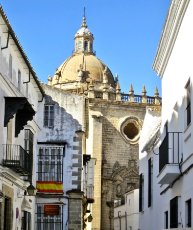 Backstreet Behind Cathedral of San Salvador