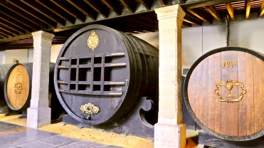 Huge Sherry Casks
