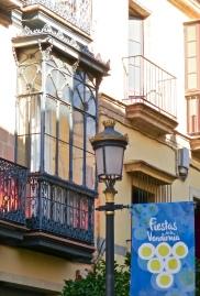 Ornate Balcony Window