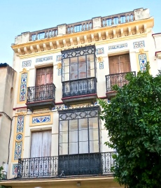 Beautifully Decorated Jerez Building