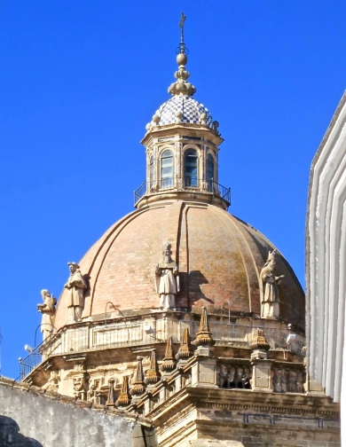 Dome Of Cathedral of San Salvador