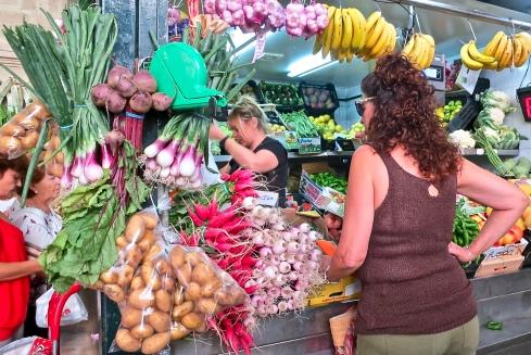 Local Produce at Mercado de Abastos
