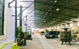 Historic Wine Equipment Inside González Bypass