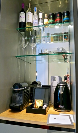 Mini Bar With Nespresso Coffee And Tea Maker