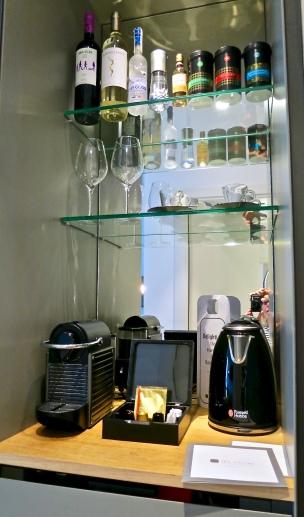 Mini Bar With Nespresso Coffee And Tea Maker