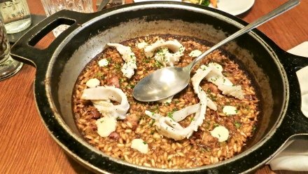 Catalan Rice With Seafood