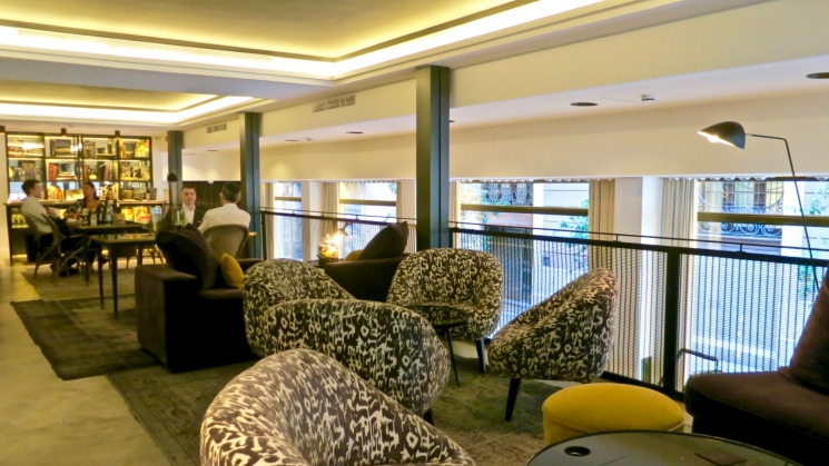 The Library At The Serras