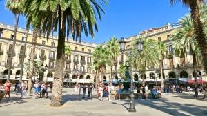 Place Reial Barcelona, Spain